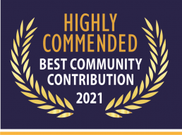 Image of Highly Commended Best Community Contribution 2021