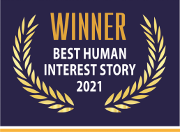 Image of Best Human Interest Story 2021