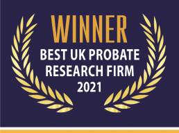 Image of Best UK Probate Research Firm 2021